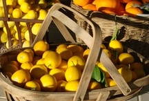 lemon tree very pretty / but the fruit of the poor lemon is impossible to eat... fresh picked, still warm from the sun