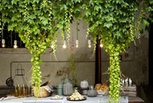 garden rooms / spaces to stay and play