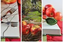 novel bakers apple week / inspired by the book the apple orchard, by susan wiggs, the novel bakers indulge in a week of apples~