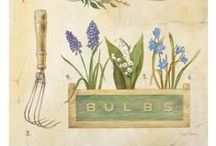 garden banners, labels, tags and all that jazz / fonts tags graphics~