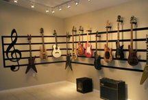 Music / Guitars/Piano/Music Room