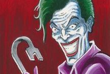"""DC Comics: """"Super Villians"""" sketch cards / Hand drawn sketch cards for Cryptozoic Entertainment's """"DC Comics: Super Villians"""" card set. © 2015 Cryptozoic Entertainment. All Rights Reserved. © DC Comics."""