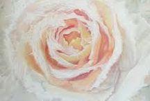 schilderen rozen