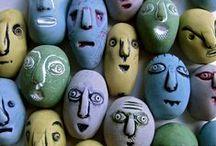 Painted stones/rocks , Maľované kamene / Maľba na kameň
