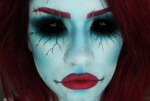 Halloween Make-up Ideas / Get set for Halloween and enjoy creating some scary faces with makeup. Here are some great ideas to try.