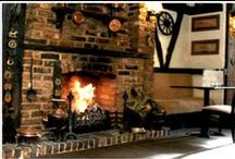 The Best London Log Fire Pubs/Bars / There's nothing better than a log fire bar to feel cosy with your #dates