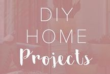 DIY Home Projects / DIY home decor ideas to create a beautiful space.