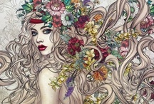 zentangles doodles, mandalas... / Ou l'art de trouver la paix en soi...