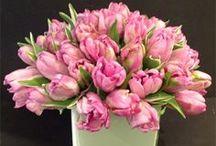 Spring flower arrangements by Us