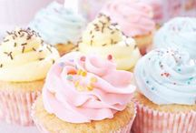 Cupcakes y u m m m m ! / Cupcakes are a perfect size of cake with ample frosting. Beautiful dreamy cupcakes with fluffy frosting, sky high frosting, pretty pastel cupcakes all baked with love! / by Jenn Klein