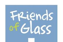 GLASS IS SOCIAL / Friends of Glass embraces social connections and invites everyone to follow us on our social media channels.