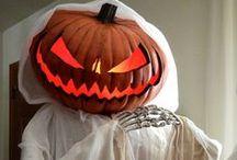 Halloween food & decorations