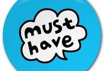 Nutně potřebuji - MUST HAVE! :) / pro prcka a něco málo pro sebe ;-) Když nevíte co by.... tohle nás potěší :-*