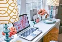 HOME | Office / Inspiration for a home office!