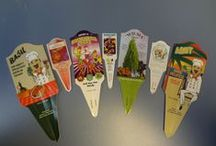 Our Tags / Some examples of programs and labels at Henry's Plant Farm.