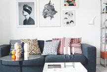 HOME | Living Room / Inspiration for the living room, furniture and decor!