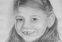 Grafit rajzaim / Grafit rajz, Portré Fotó alapján portré rajz készítése!