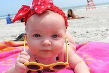   B e a c h B a b i e s   / What's cuter than babies and beaches?