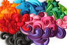 Quill Queen / Love the swirls & curls and the colours that they spread. / by Bonifas Lakra