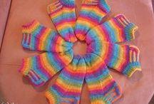 by itu - Helena-sukat / Tässä käsin neulomiani nilkkureita jotak mimeltään Helena