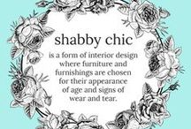 Shabby Chic / Shabby Chic is a form of interior design where furniture and furnishings are chosen for their appearance of age and signs of wear and tear. Learn how to master it!