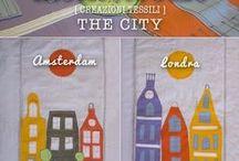 Mentelocale CREATIVE COLLECTION:THE CITY / AMSTERDAM,LONDRA,PARIGI,MOSCA, NEW YORK........... Prima di tutto scelgo una destinazione,una città, poi inizia il viaggio. Un viaggio che dura anche mesi o anni, divento cacciatrice di storie,di paesaggi di rumori,e quando sento di aver colto lo spirito,del luogo lo traduco in una collezione tessile; THE CITY.