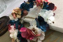 Coronas de flores / Coronas de flores totalmente personalizadas. Encarga la tuya en hola@etcbahia.com