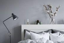 BEDROOM / Bedroom, Schlafzimmer, Bed, Interior, Living, Einrichtungsideen,