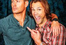 Supernatural / Dean and Sam, Jared and Jensen, supernatural