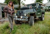 Anna! / Anna Ryder-Richardson - formerly a celebrity designer well known for TV series 'Changing Rooms', has also been on 'I'm a Celebrity Get Me Out of Here', now owns @AnnasWelshZoo along with husband Colin MacDougall.
