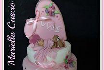 Shower/Christening Cake / Baby shower cake