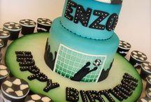 Soccer cake / Soccer cake