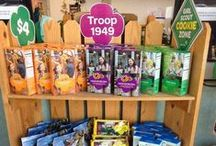 GS Cookie booth ideas / Some fun, creative ideas for your Girl Scout Cookie booths! / by Girl Scouts OSW