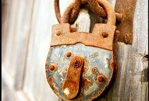 Old keys, locks & Latches