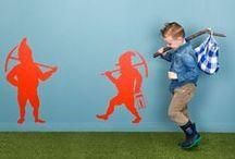WALL MANIA stickers / Muurstickers waar je vrolijk van wordt! Stickers qui vous décrochent un sourire!