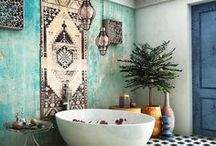 BOHEMIAN HOMES / Spruce up your bohemian home decor with our collection of boho design favourites for every room.