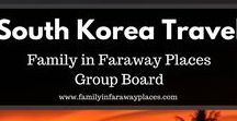 South Korea Travel / A group board for travel blog posts about South Korea. Including Seoul, Busan, Jeju, and more. Travel guide and where to eat as well.  If you would like to join, please just send me a message! www.familyinfarawayplaces.com