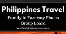Philippines Travel / This board is for Philippines travel destinations or traveling while Filipino. Travel guide, where to eat, and Filipino visa free travel as well. Including Manila, Cebu, El Nido, Bohol, Boracay and more.  If you would like to join this board, please just send me a message! www.familyinfarawayplaces.com