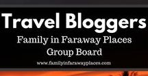 Travel Blogs / Interested in traveling? Here is a board for travel blog posts by travel bloggers or about travel blogging. Travel guide and where to eat as well.   If you would like to join this board, please just send me a message! http://www.familyinfarawayplaces.com/