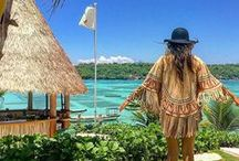 BOHO TRAVEL INSPIRATION / Some of our favourite and most inspiring bohemian travel destinations, from beachy jungle landscapes to winter wonderlands.