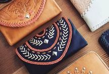 BOHO LEATHER INSPIRATION / Browse our bohemian leather inspiration, from wallets and clutches to jewellery, bags, clothing and more.