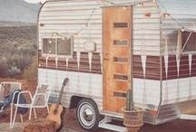 BOHO VAN LIFE / Get some inspiration for your next bohemian adventure with our collection of adorable boho van and caravan beauties.