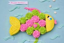 Easy cakes / Cute, simpel, creative and easy. Both cakes and cupcakes for any holiday or special occasion.