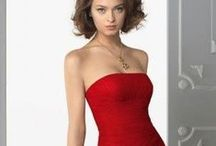 The red dress / The most passionate wedding and evenin gowns in Red