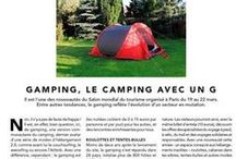 Press Gamping / They talk about gamping (garden camping)