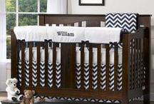 Navy Nursery / We're excited to bring you many new Navy Baby Bedding Sets! Perfect for both boys and girls, you'll love your Navy Nursery from Liz and Roo!!
