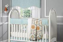 Aqua Nursery / by Liz and Roo Fine Baby Bedding