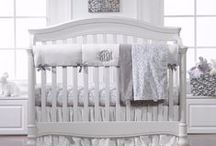 "Bumper-Free Baby Bedding / The American Pediatric Society recommends ""Bare is Best"" and the removal of bumpers from the crib. The alternative? Bumperless Bedding featuring a Rail or Teething Cover! Not only is it beautiful, but it protects against teething, important to protect your convertible crib!"