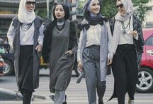 Hijab - Chic, style ideas / #Style #fashion #inspired outfits