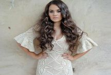Crochet Tops and Dresses / Inspiration for top and dress design. Links to patterns and diagrams.